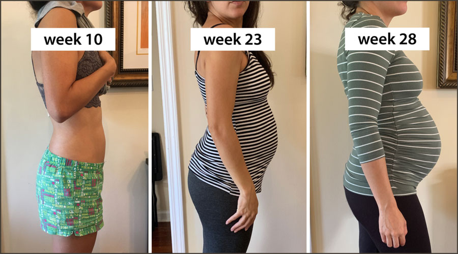 Pregnancy update, Week 28: Doula, Lamaze, books, and back pain thumbnail
