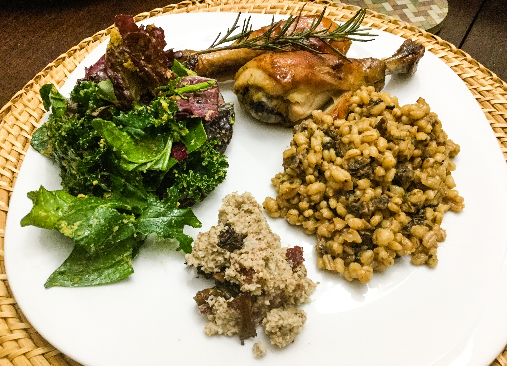A morel dinner where every dish includes morel mushrooms (including dessert)? Yes please.
