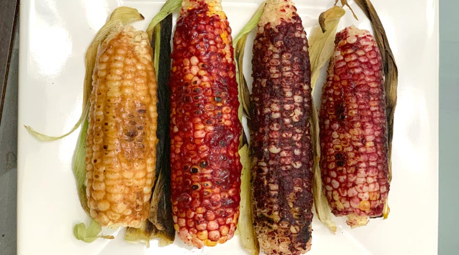 Recipe: Cast iron corn on the cob with lacto-fermented fruit rub thumbnail