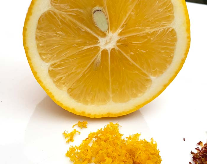Use fresh Meyer lemon zest to take the flavor of this recipe up a notch. Not sure how to zest a lemon? Read how.