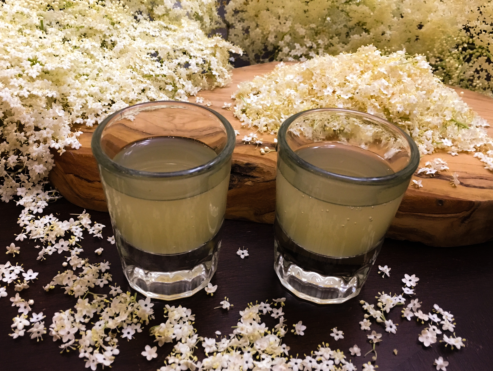 Sparkling elderflower syrup has an incredible flavor that words just won't do justice to. www.TyrantFarms.com