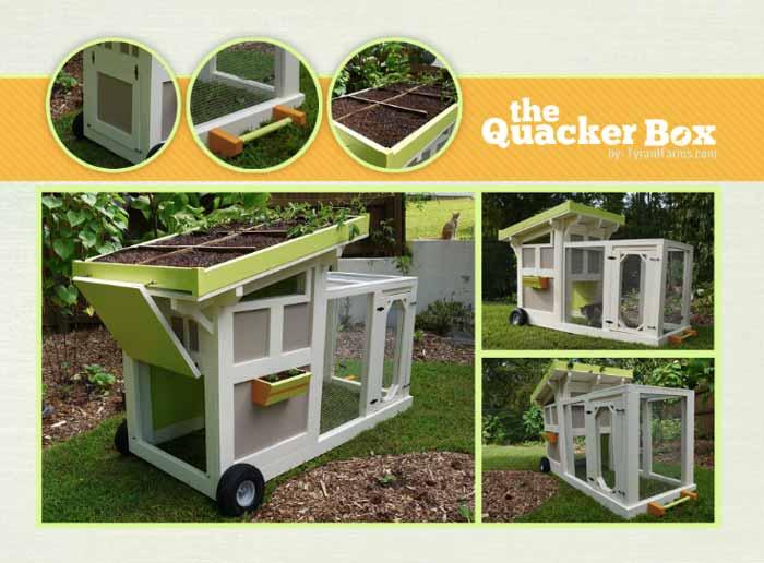 duck house, duck coop, duck tractor